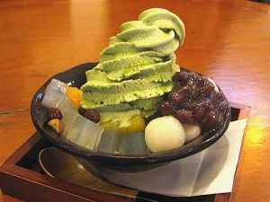 Anmitsu Dessert
