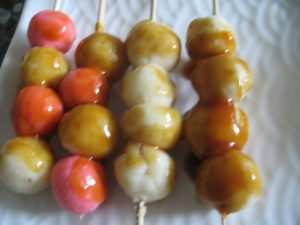 Japanese Dango