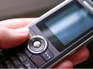 cell phone on silent