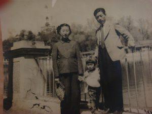 vintage Japanese parents